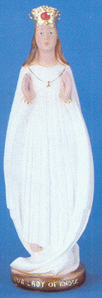 "Our Lady of Knock 12"" Italian Plaster Statue"