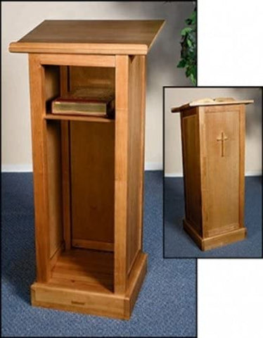 Full Lectern with Shelf