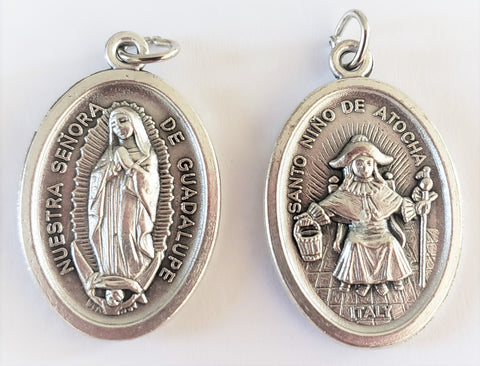 Our Lady of Guadalupe/Nino de Atocha - Pack of 25