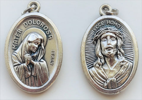 Ecce Homo/Our Lady of Sorrows - Pack of 25