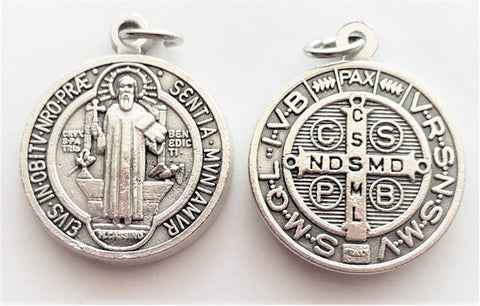 St. Benedict (Round) - Pack of 25