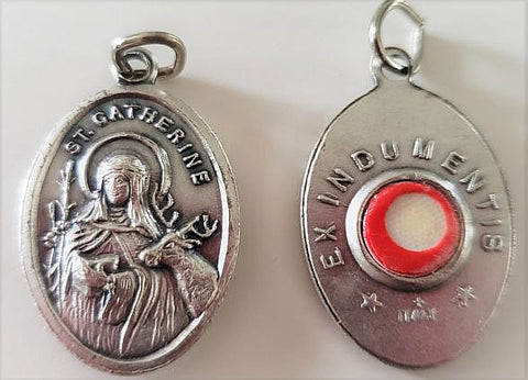 St. Catherine Relic Medal