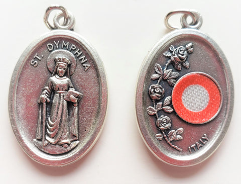 St. Dymphna Relic Medal