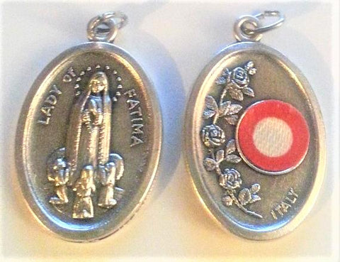 Our Lady of Fatima Relic Medal