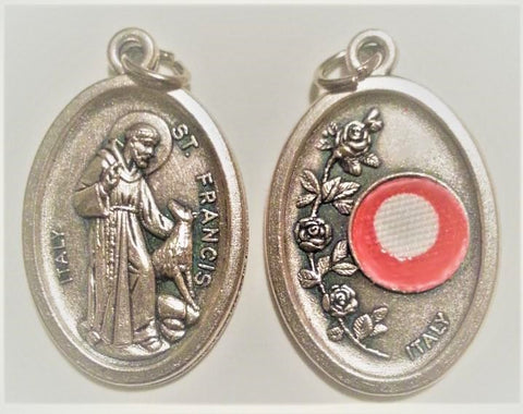 St. Francis of Assisi Relic Medal