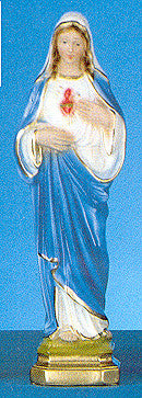 Immaculate Heart of Mary Italian Plaster Statue
