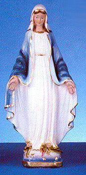 "Our Lady of Grace 12"" Italian Plaster Statue"