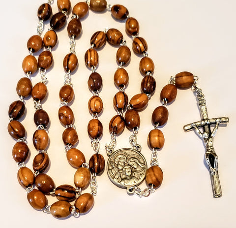 Nativity Relic Olive Wood Rosary