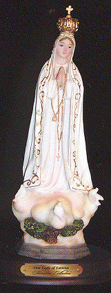 Our Lady of Fatima Resin Statue