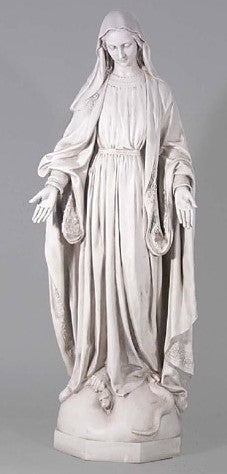 Our Lady of Grace Outdoor Statue 56""