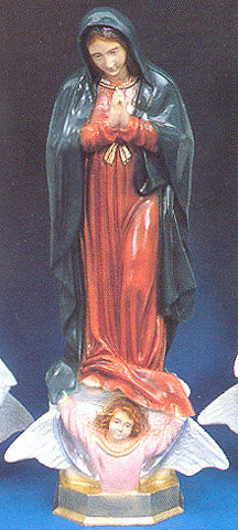 Outdoor Statue - Our Lady of Guadalupe 24""