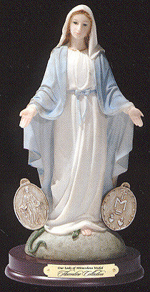 Our Lady of the Miraculous Medal Resin Statue