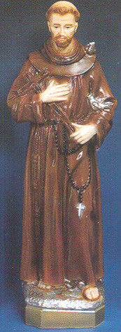 Outdoor Statue - St. Francis  24""