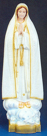 Outdoor Statue - Our Lady of Fatima 32""