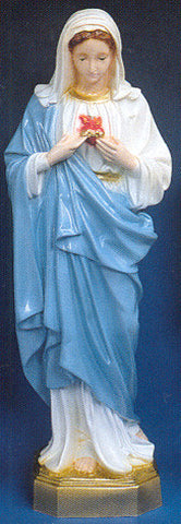 Outdoor Statue - Immaculate Heart of Mary 24""