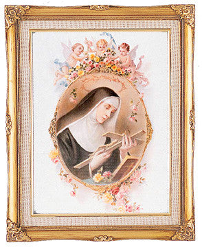 Framed Art - St. Rita