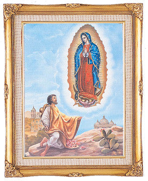Framed Art - St. Juan Diego