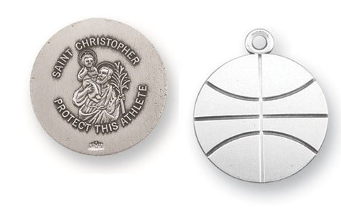 Basketball Athlete Medal