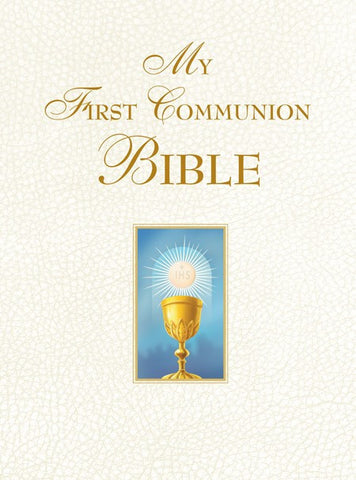 My First Communion Bible Engravable