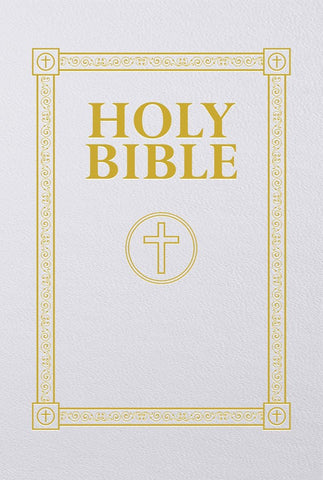 Douay-Rheims Bible (First Communion Gift Edition) Engravable
