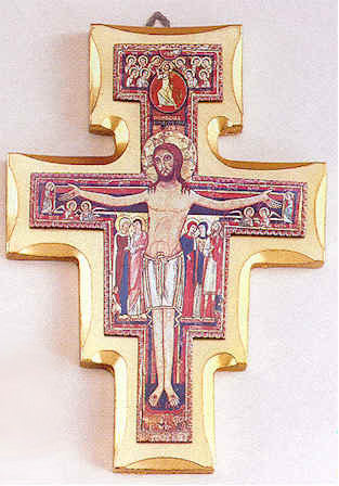 San Damiano Crucifix - Various Sizes - Discount Catholic Store
