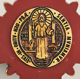 St. Benedict Wall Crucifix 10""