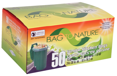 Bag To Nature tall kitchen bag- value pack