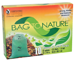 Bag To Nature Lawn & Leaf bag