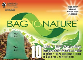 Bag To Nature Large Lawn & Leaf Bag