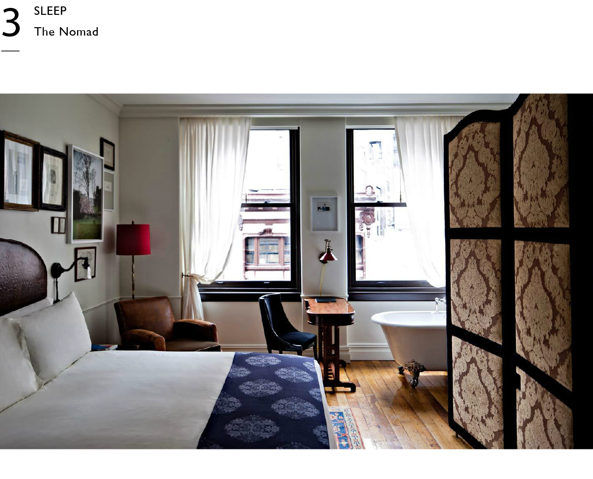 The NoMad Hotel New York