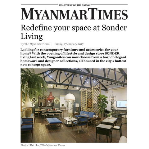 Modern Furniture Yangon sonder living launches in yangon – sonder living