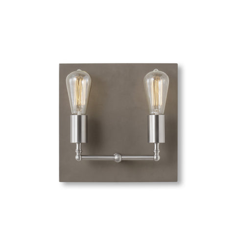 Factory Sconce - Double