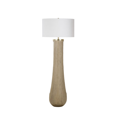 Gray Floor Lamp