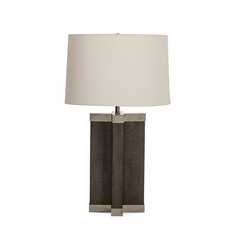 Shagreen Lamp - Grey