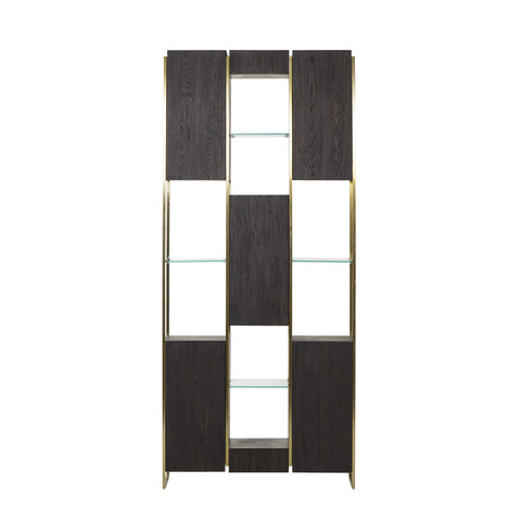 Marley Bookcase - Dark Oak