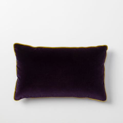 Vadit Deep Purple Throw Pillow