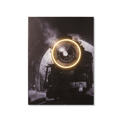 Steam Train - LED Neon