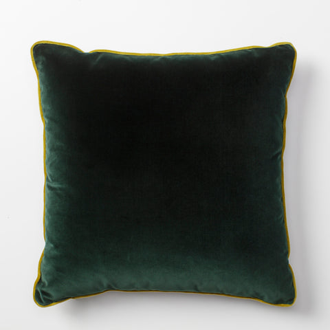 Vadit Emerald Green Throw Pillow