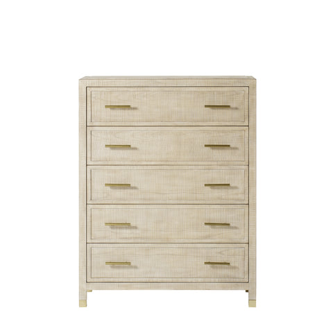 Raffles Chest - 5 Drawer / Natural