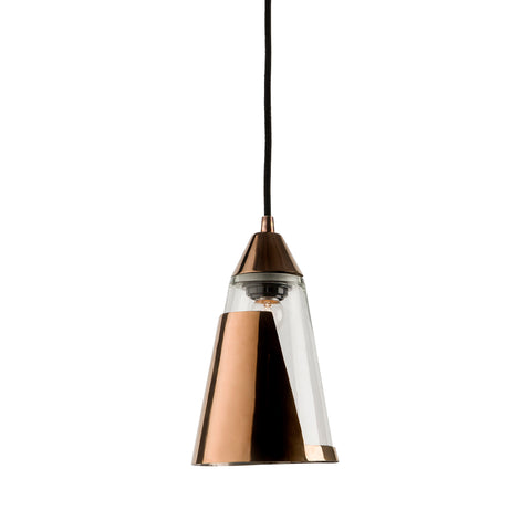 Bessie Pendant Lamp - Rose Gold