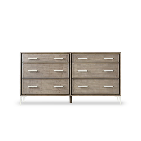 Chloe Light Dresser - 6 Drawer