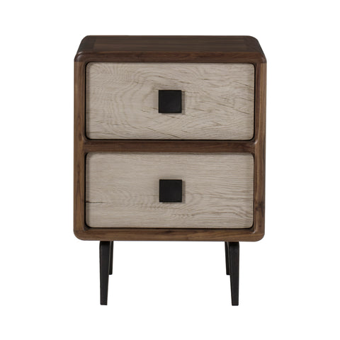 Da Vinci Side Table - Light Walnut