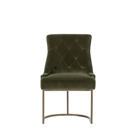 Rupert Dining Chair - Aged Green