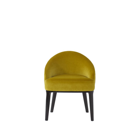 Cersie Dining Chair - Black / Vadit Lemon