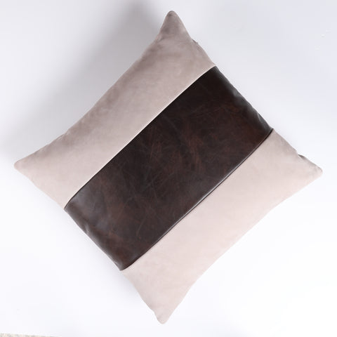 Finley Beige Throw Pillow