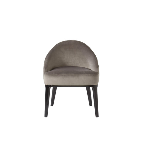 Cersie Dining Chair - Black / Harry Velvet Storm