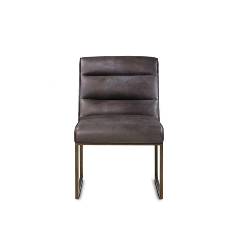 Noah Side Chair - Saddle Brown