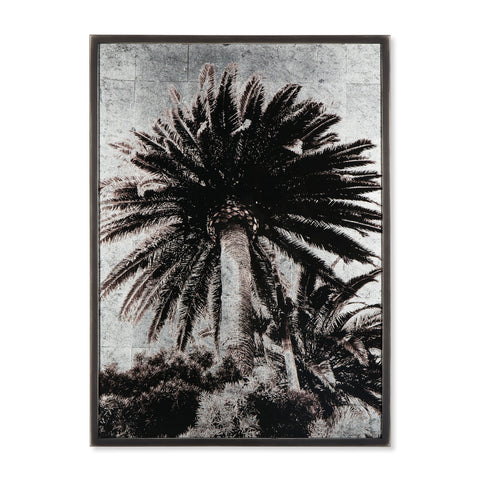 Venice Palm Trees - Siver Leaf
