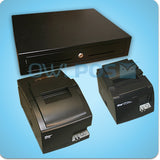 Square Hardware Bundle Combo Star TSP100 TSP143U SP742ML Receipt Printers and Cash Drawer