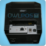 Star TSP654IIE3 Ethernet Receipt Printer & Cash Drawer Hardware Bundle Square PayPal Here